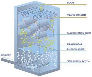 تحقیق در مورد راکتورهای UASB