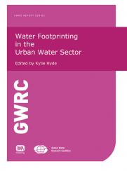 Water Footprinting in the Urban Water Sector