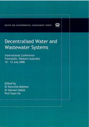 Decentralised Water and Wastewater Systems