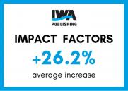 Impact Factors up 26.2% across IWA Publishing journals