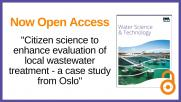 WST Editor's Choice Paper #10: Water Science & Technology