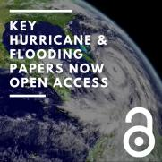 Key Hurricane & Flooding-Related Papers Now Open Access