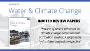 Journal of Water & Climate Change: Invited Review Paper #2