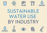 Sustainable Water Use By Industry: Author Blog Post