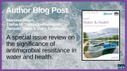 Special Issue of Water & Health: Author Blog Post