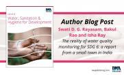 Journal of Water, Sanitation & Hygiene for Development: Author Blog Post