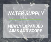 New Aims and Scope for Water Supply journal