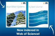 Blue-Green Systems and H2Open Journal indexed in Web of Science
