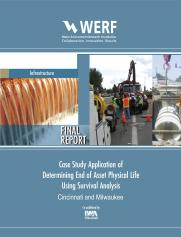 Case Study Application of Determining End of Asset Physical Life Using Survival Analysis: Cincinnati and Milwaukee