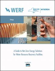 A Guide to Net-Zero Energy Solutions for Water Resource Recovery Facilities