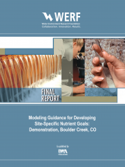 Modeling Guidance for Developing Site-Specific Nutrient Goals: Demonstration, Boulder Creek, CO