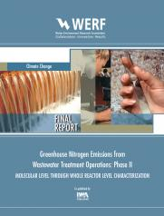 Greenhouse Nitrogen Emissions from Wastewater Treatment Operations: Phase II Molecular Level Through Whole Reactor Level Characterization