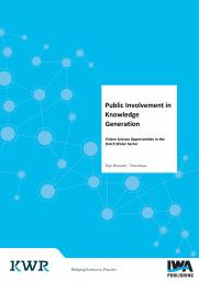 Public Involvement in Knowledge Generation: Citizen Science Opportunities in the Dutch Water Sector