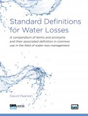 Standard Definitions for Water Losses