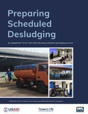 Preparing Scheduled Desludging
