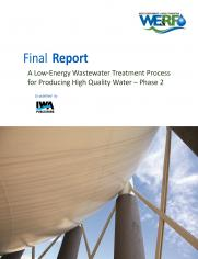 A Low-Energy Wastewater Treatment Process for Producing High Quality Water – Phase 2